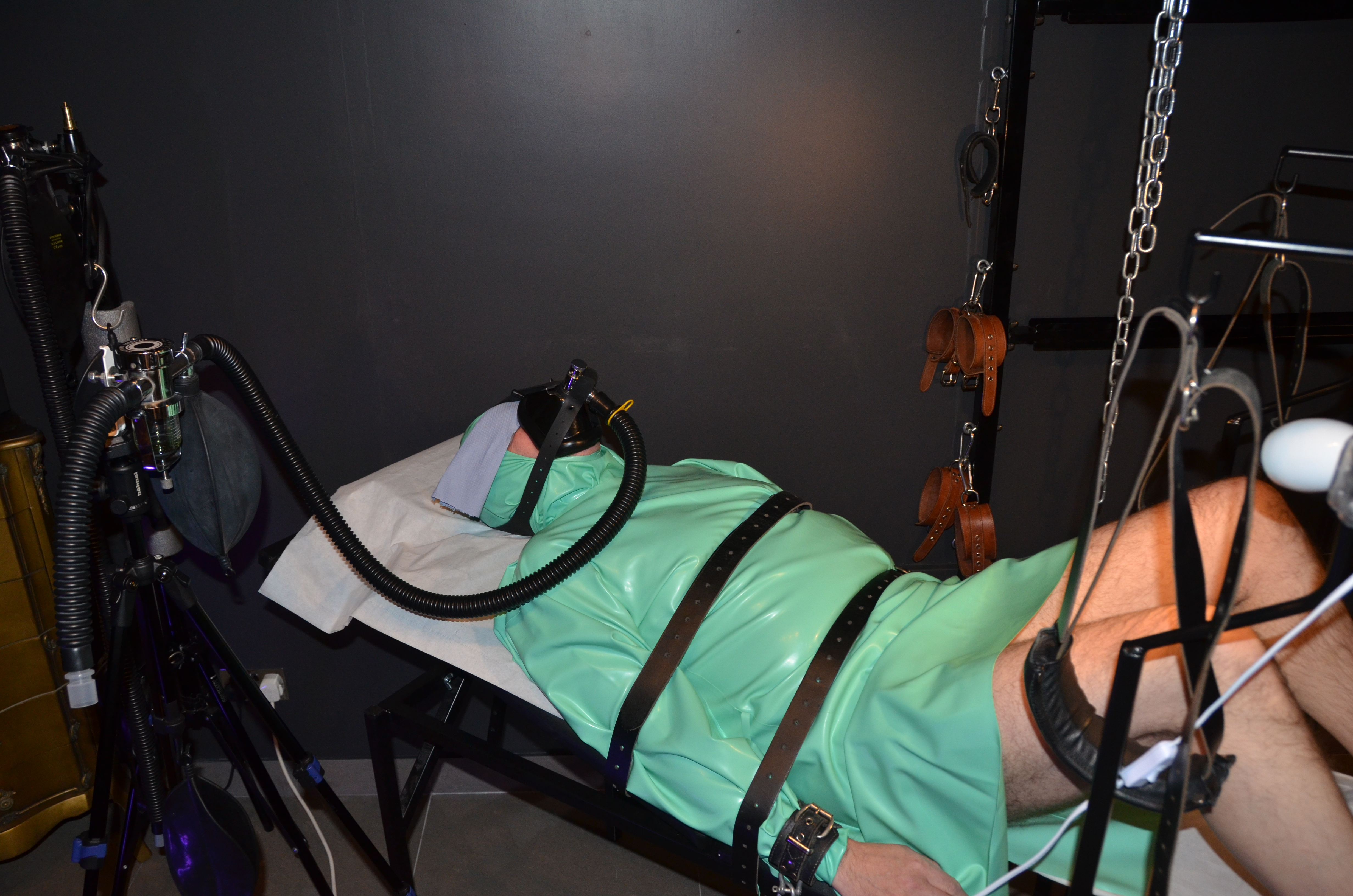 Gay Medical Bondage Galery Fucked And Fed Over And Over