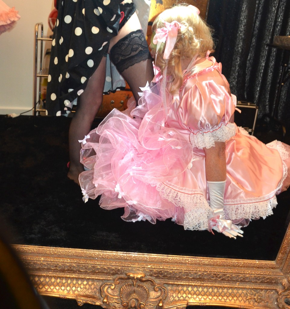sissy cock pushed inside
