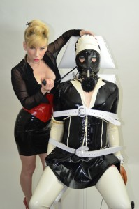 Rubber maid bondage